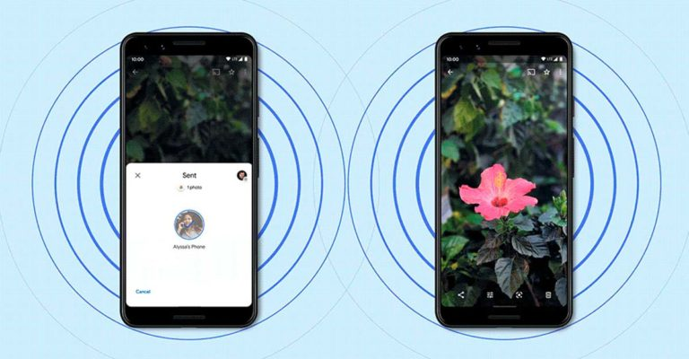 Google Nearby Share AirDrop para Android